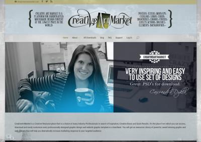 Creative Art Market – eCommerce Site