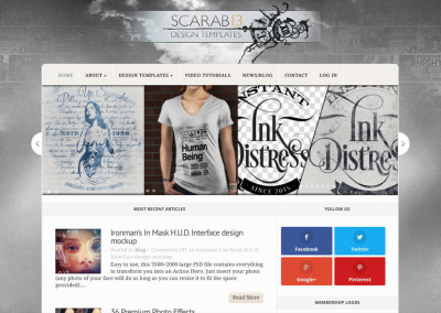 Scarab13 Website